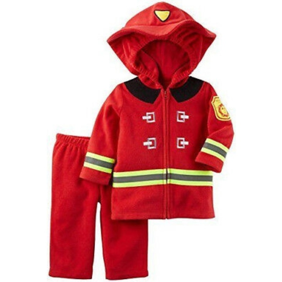 Carter's Other - Carter's Fireman Fire Fighter Costume Set A000464